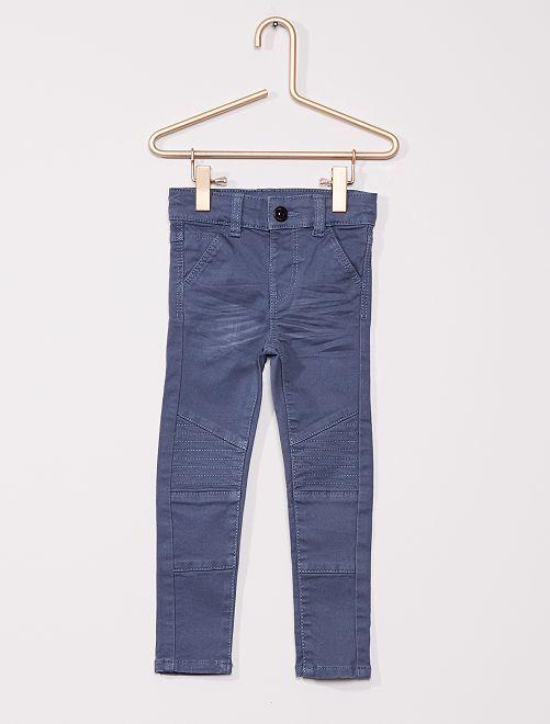 Pantalon pour enfant fin                                         bleu