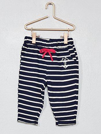 Pantalon rayé 'Little Marcel' - Kiabi