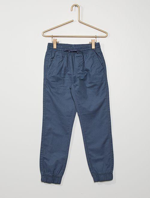 Pantalon regular                                                                             bleu