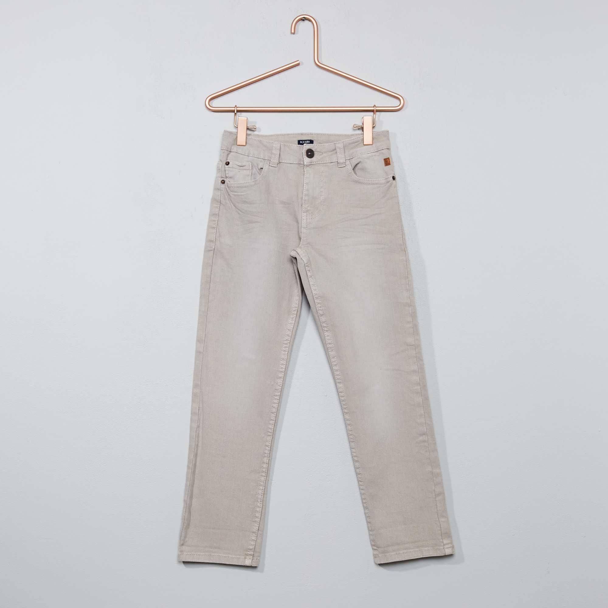 Couleur : gris clair, , ,, - Taille : 9A, 6A, 5A,10A,8ADes pantalons colorés pour se changer suivant l'envie ! - Pantalon regular / coupe
