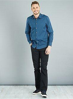 Homme de plus d'1m90 - Pantalon regular en twill de coton L36 +1m90
