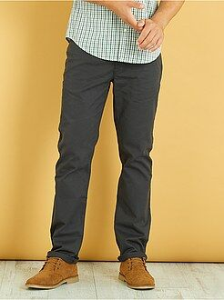 Pantalon regular toucher doux longueur US 32