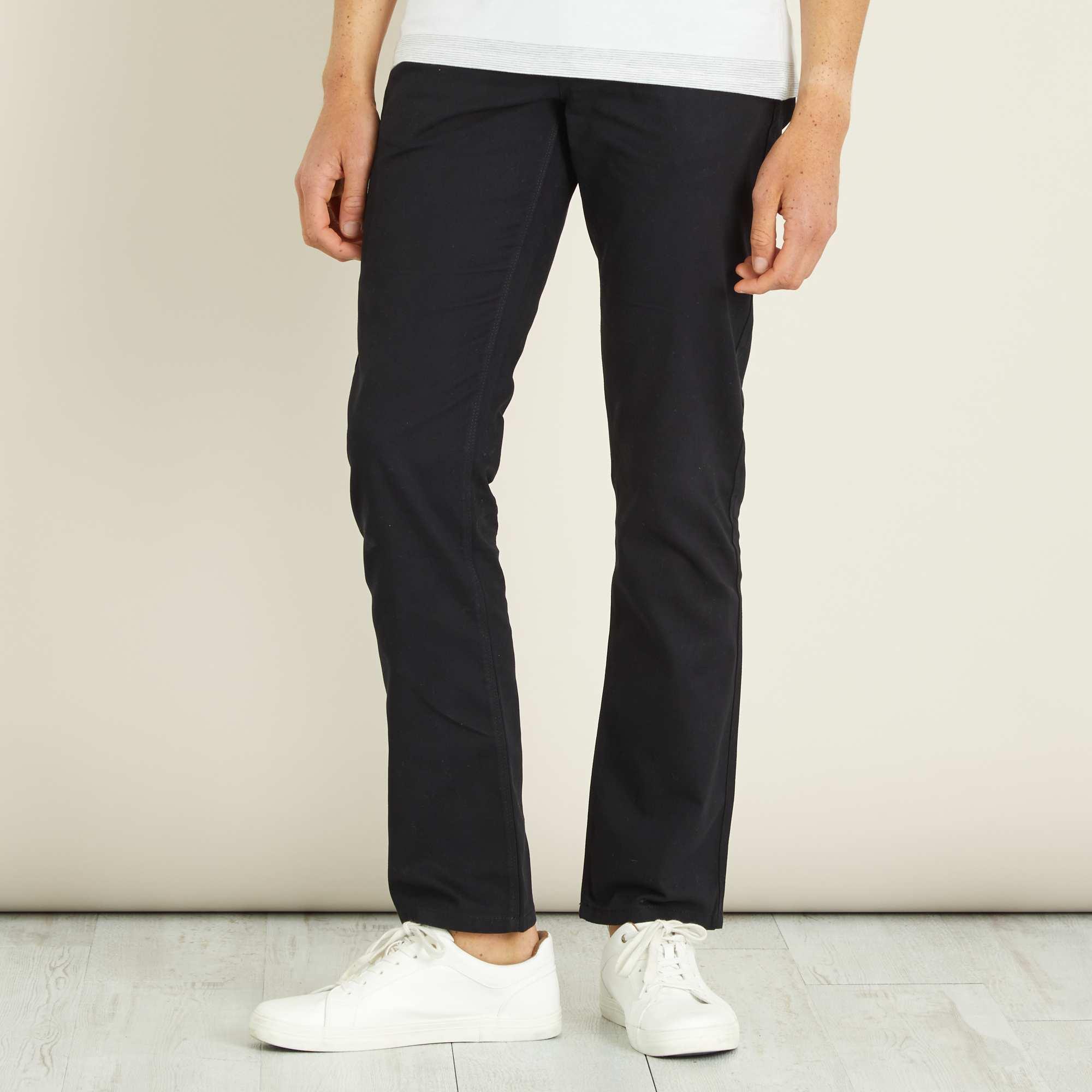 Couleur : noir, gris, ,, - Taille : 46, 40, 50,48,44Classique mais essentiel à tout bon vestiaire masculin ! - Pantalon 5 poches - Coupe