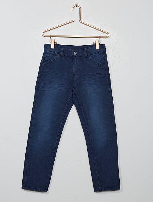 Pantalon relaxed fit                                         bleu marine