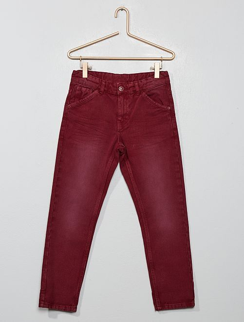 Pantalon relaxed fit                                         bordeaux