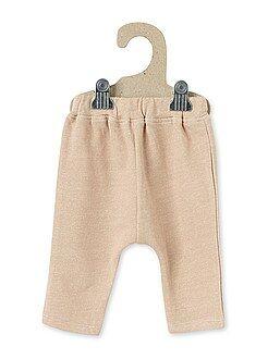 Pantalon sarouel en molleton