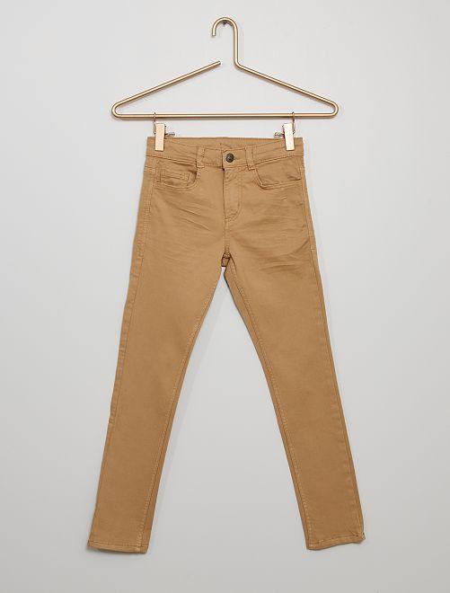 Pantalon skinny cinq poches                                                                                                                                                                                         beige