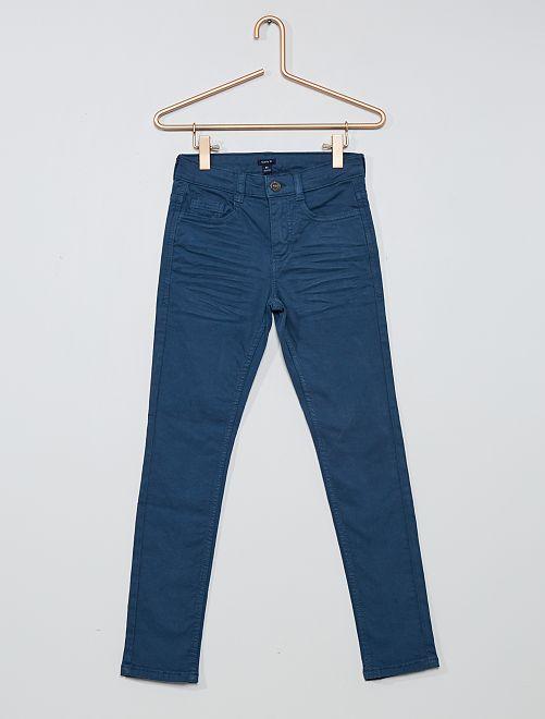 Pantalon skinny cinq poches                                                                                                                                                                                                                                                                             bleu grisé