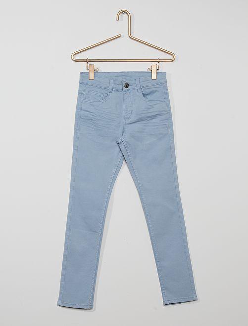 Pantalon skinny cinq poches                                                                                                                                                                                         gris bleu