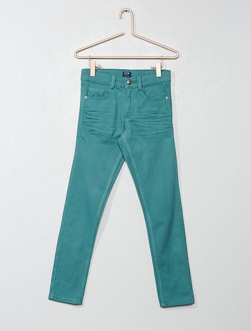 Pantalon skinny cinq poches                                                                                                                                                                                                     vert gris