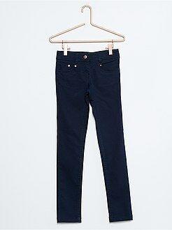 Fille 4-12 ans Pantalon skinny coton stretch