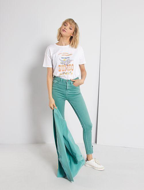 Pantalon skinny de couleur                                                                 vert