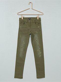 Pantalon skinny destroy