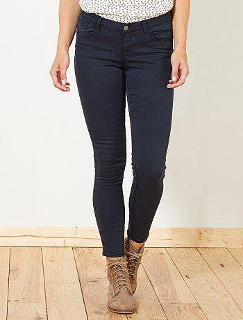 Pantalon skinny effet push up - Kiabi