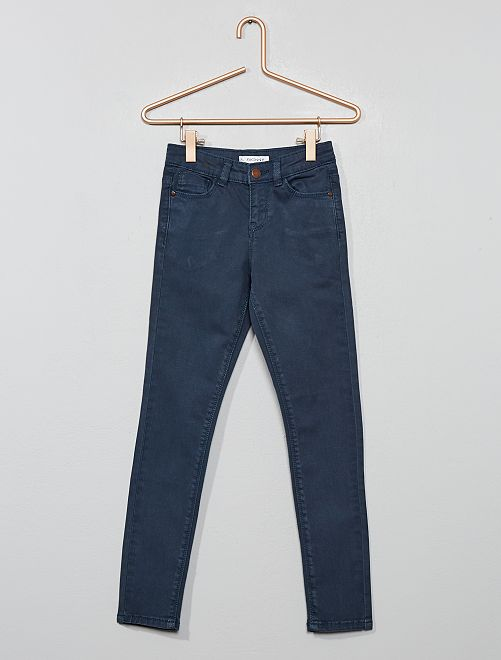 Pantalon skinny en denim                                                                                         bleu navy