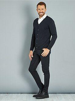 Pantalon skinny en twill de coton stretch