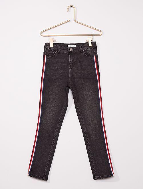 Pantalon skinny enfant rond                                         noir