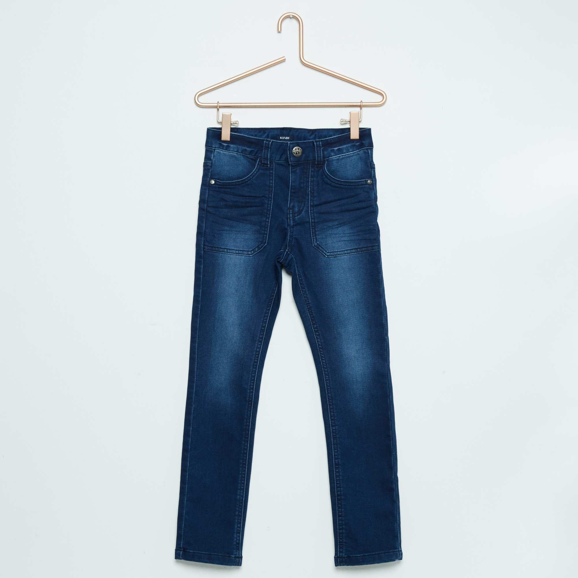 Couleur : brut, double stone, ,, - Taille : 4A, 8A, ,,Le pantalon denim en version skinny ! - Pantalon en coton stretch - Taille ajustable