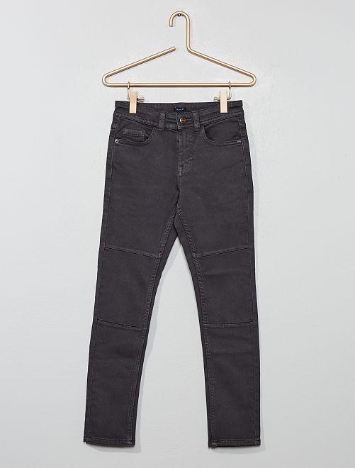 Pantalon skinny                                                                 gris foncé