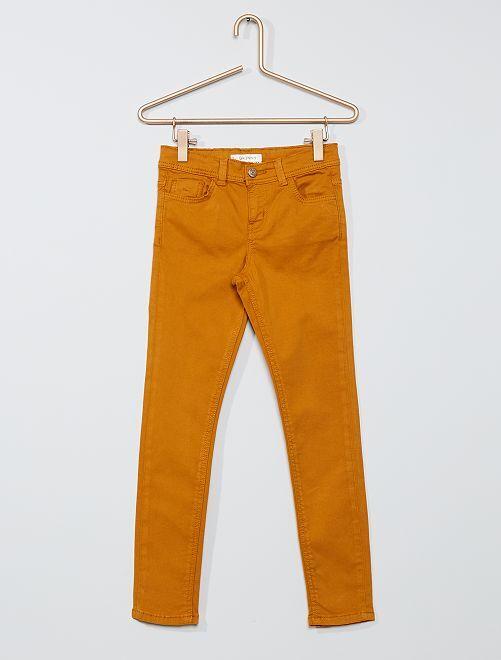 Pantalon skinny                                                                                                                                                                 ocre