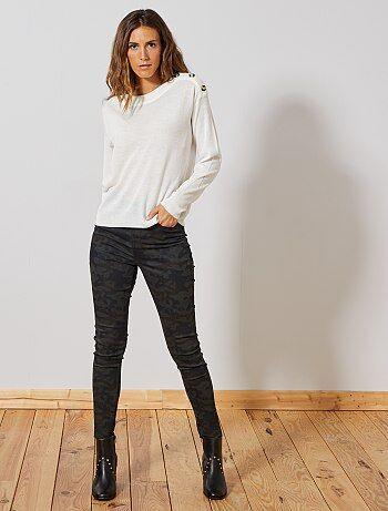 ac437ce6e5 Soldes pantalon femme, achat de pantalons pour femme originaux ...