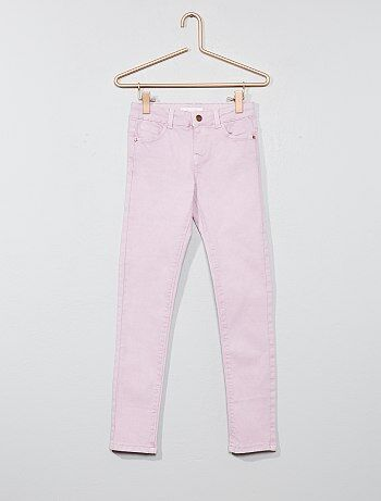 Fille 3-12 ans - Pantalon skinny stretch - Kiabi