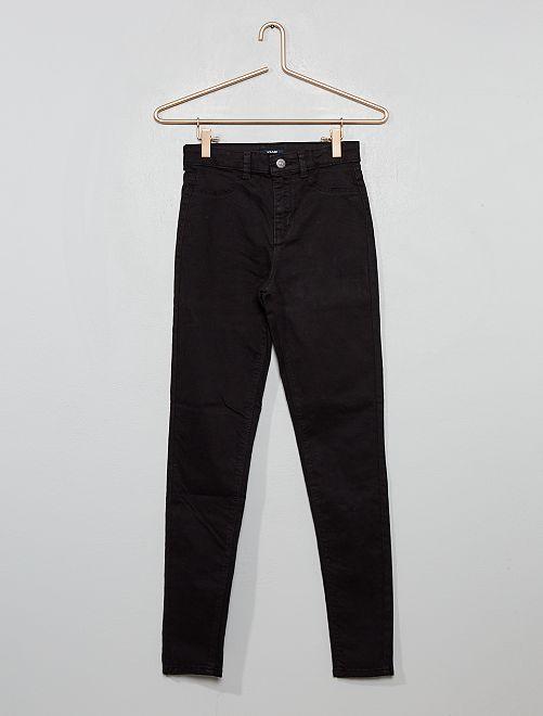Pantalon skinny stretch                                                                 noir