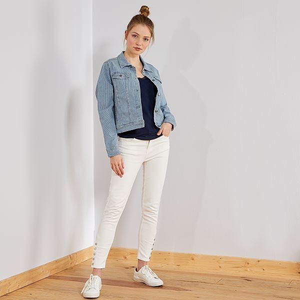 design intemporel nouveau style de prix incroyables Pantalon skinny taille haute