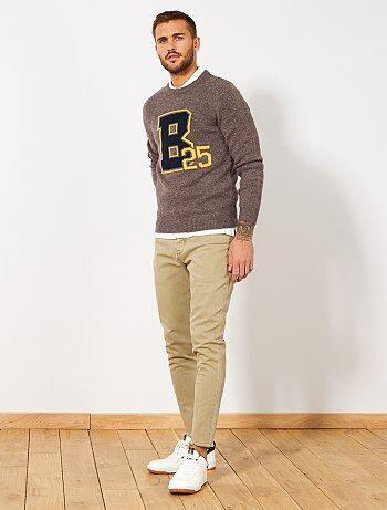 Pantalon skinny tapered