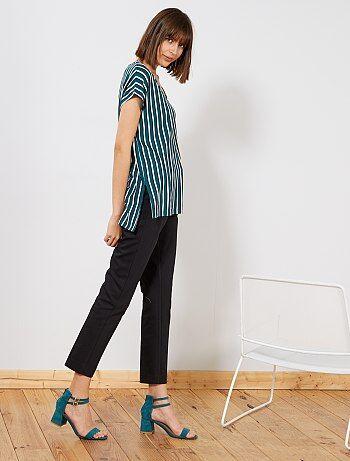 a16d82955c Pantalon Vêtements femme | noir | Kiabi