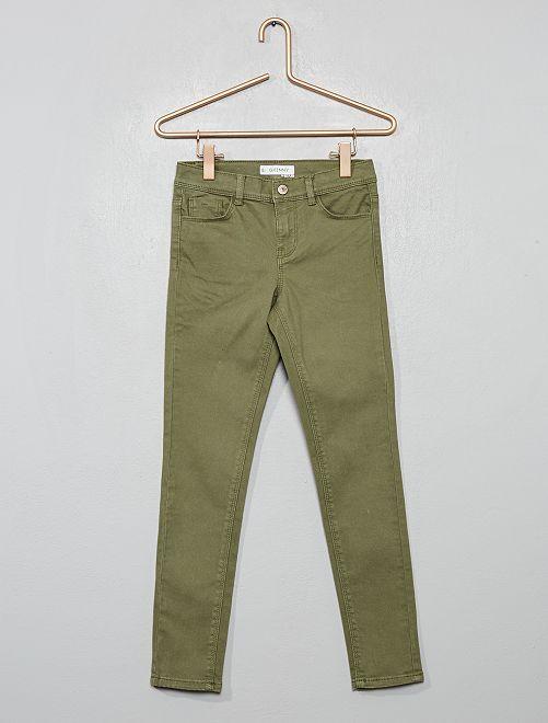 Pantalon skinny                                                                                                                                                                             vert lichen