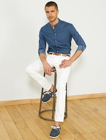 Soldes pantalon slim homme pas cher - mode homme Homme   Kiabi 160c7b18905
