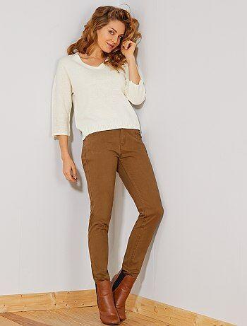 4cb461be36df Pantalon slim 5 poches stretch - Kiabi