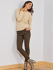 Pantalon slim 5 poches stretch