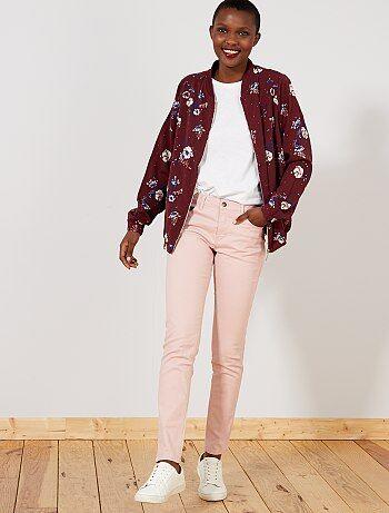 84691859 pantalon-slim-5-poches-stretch-rose-pale-femme-wd502_16_fr1.jpg