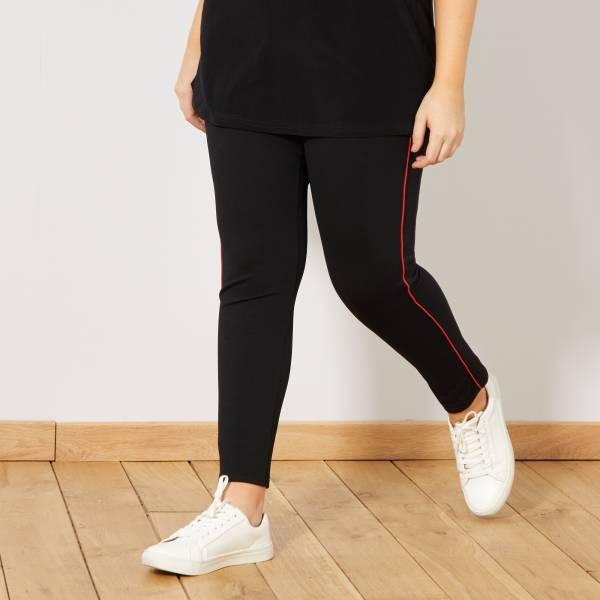 design de qualité 97fd7 ca789 Pantalon slim bande côté