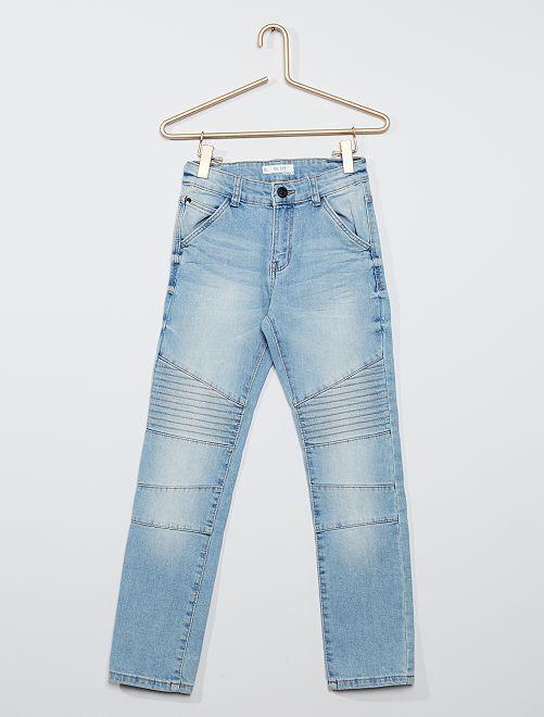 Pantalon slim 'biker'                                                     triple stone
