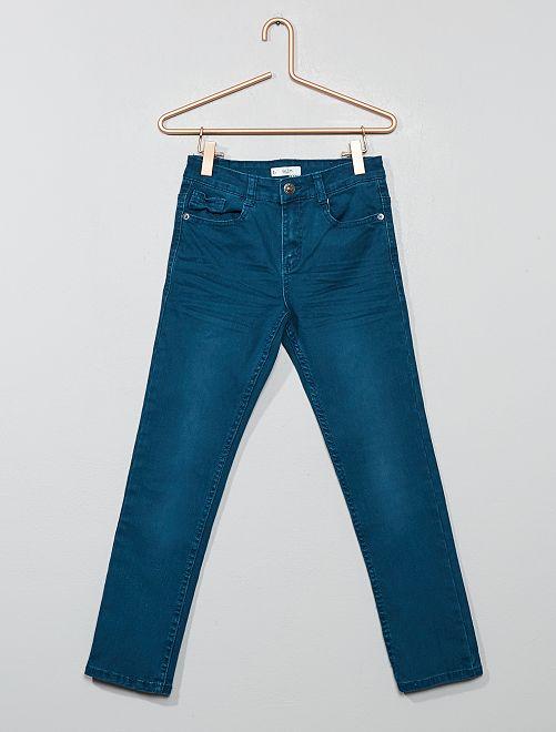 Pantalon slim                                                                                                                                                                                                                                                                                                     bleu bondi