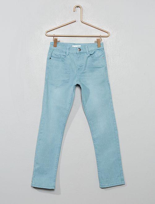 Pantalon slim                                                                                                                                                                                                                                                                             bleu cendré