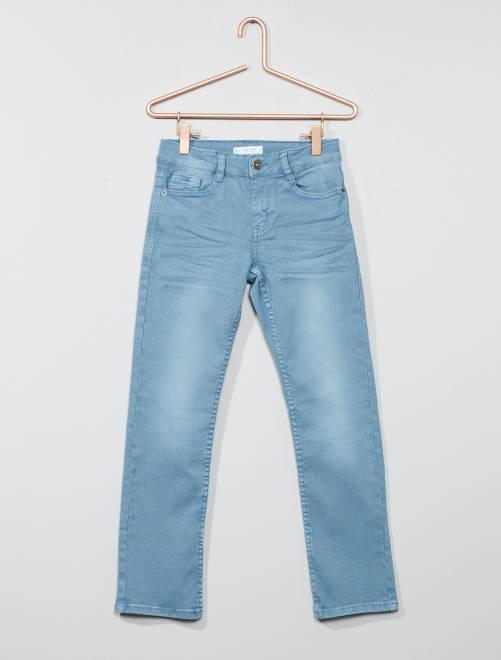 Pantalon slim                                                                                                                                                                                             bleu clair