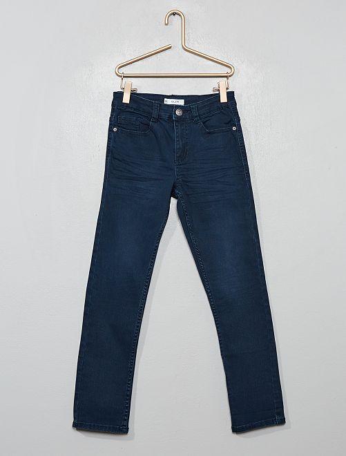 Pantalon slim                                                                                                                                                                                                                                                                                                                             bleu foncé