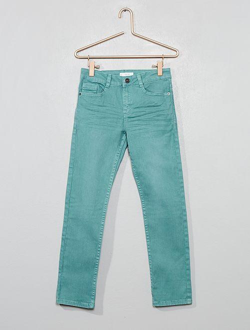 Pantalon slim                                                                                                                                                                                                                             bleu Garçon