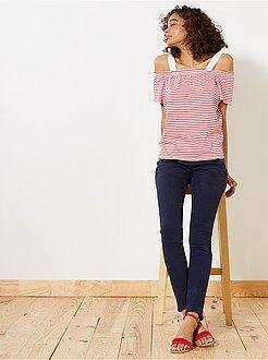 Pantalon slim - Kiabi