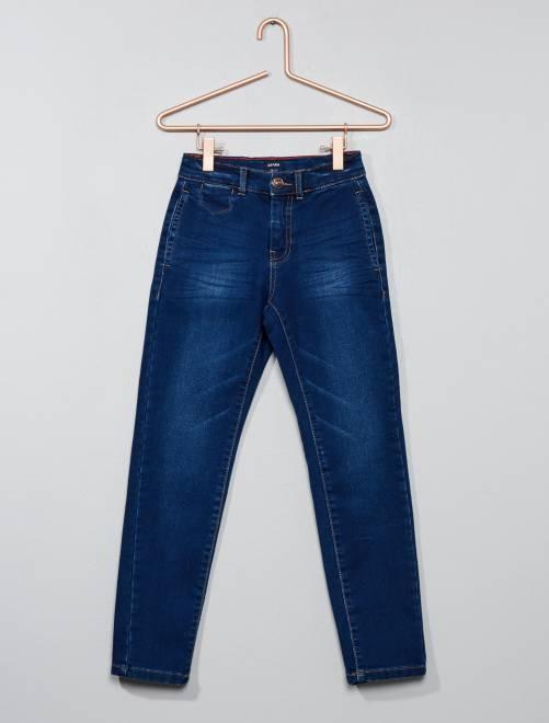 Pantalon slim                             bleu stone
