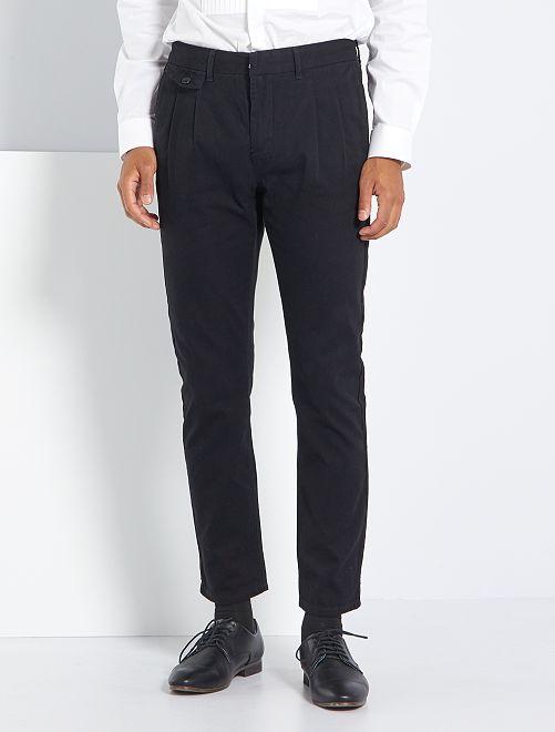 Pantalon slim city                                         noir
