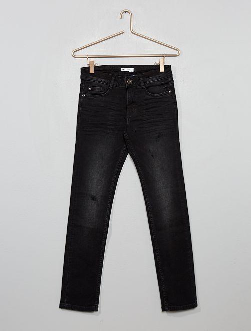Pantalon slim destroy                                         noir