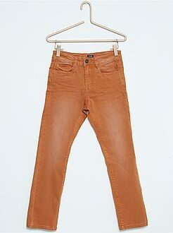 Garçon 4-12 ans Pantalon slim en coton