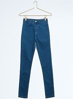 Fille 10-18 ans Pantalon slim en coton stretch