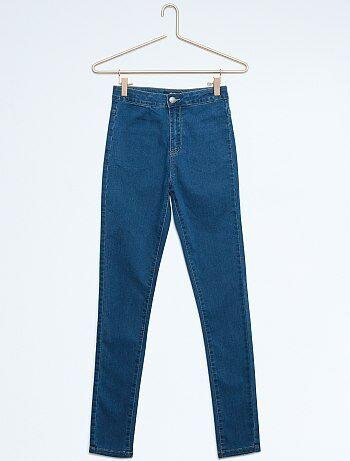 Pantalon slim en coton stretch