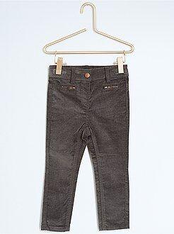 Fille 18 mois - 5 ans Pantalon slim en velours